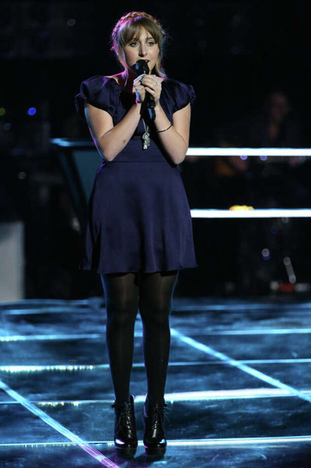 """THE VOICE -- """"Knockout Rounds"""" Episode 512 -- Pictured:   Caroline Pennell -- (Photo by: Tyler Golden/NBC) Photo: NBC, Tyler Golden/NBC / 2013 NBCUniversal Media, LLC"""