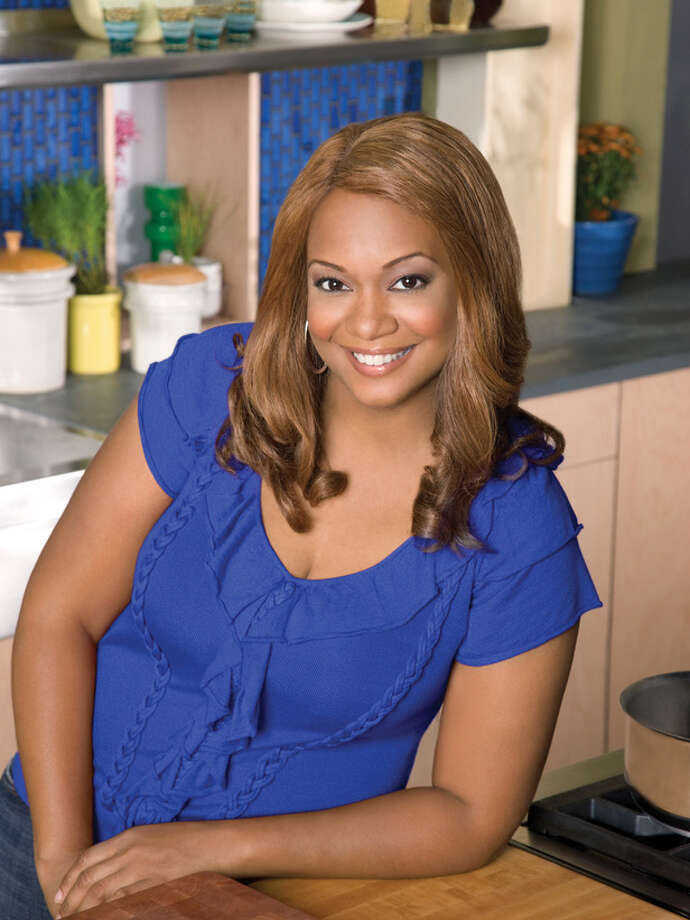 Treat! Down-to-earth TV chef Sunny Anderson will sign cookbook, greet fans in her teenage haunt of San Antonio. Photo: Food Network