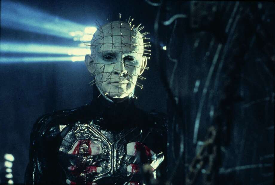 Q: Fashion Week or Halloween Costume?A: Hellraiser Photo: New World Pictures / Handout slide