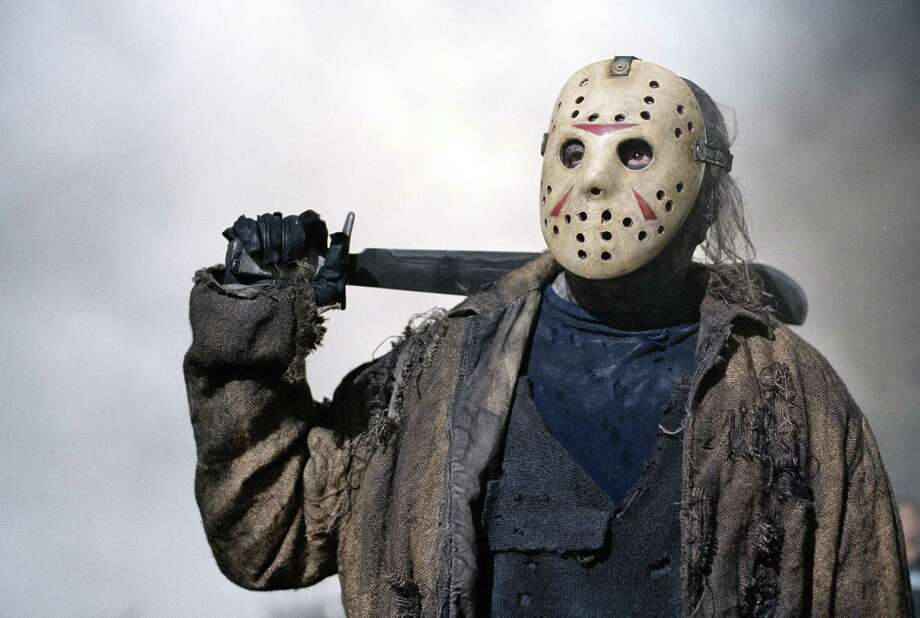 Q: Fashion Week or Halloween Costume?A: Jason in Friday the 13th Photo: JAMES DITTIGER, KRT / NEW LINE PRODUCTIONS