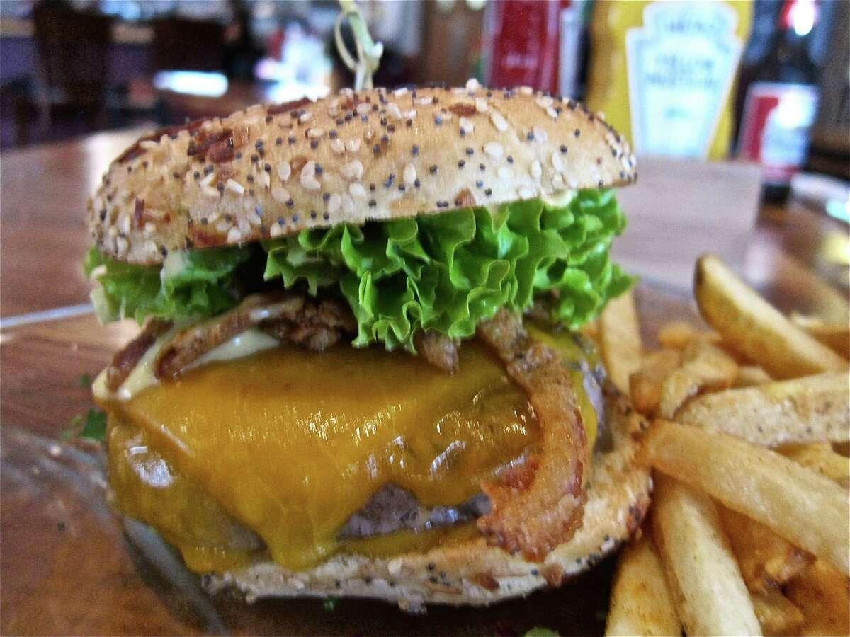 The Big PD Burger at Chopping Block