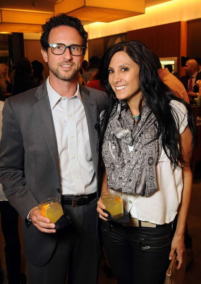 Jason Presley and Andi Chambers at a VIP preview event for David Yurman's Meteorite Collection Tuesday Oct. 29,2013.  (Dave Rossman photo) Photo: Dave Rossman, For The Houston Chronicle