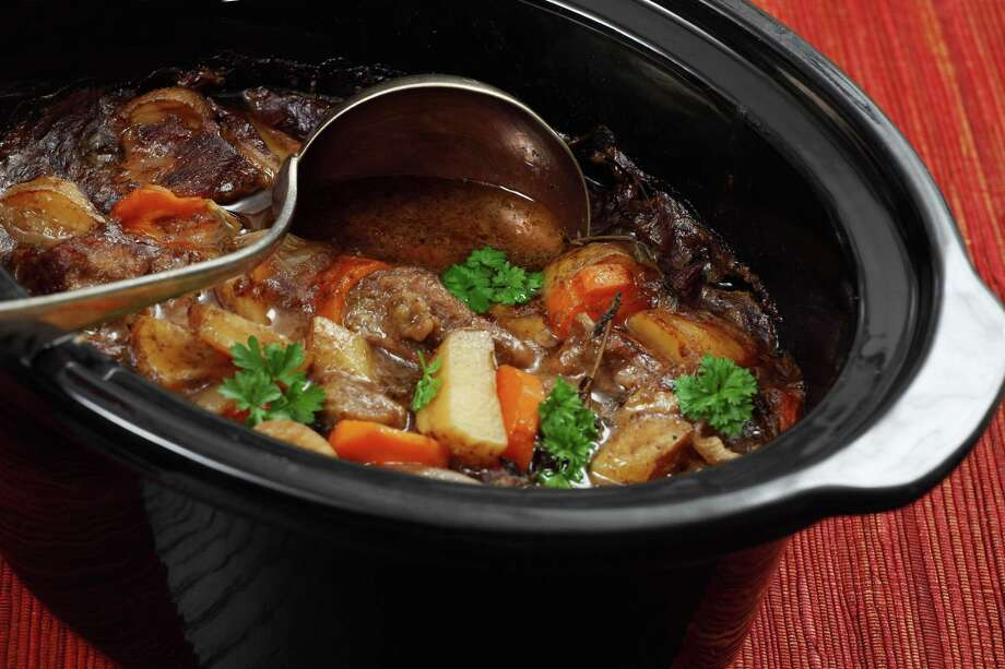 Photo of Irish Stew or Guinness Stew made in a crockpot or slow cooker. Fotolia Photo: Ron Sumners / sumnersgraphicsinc - Fotolia