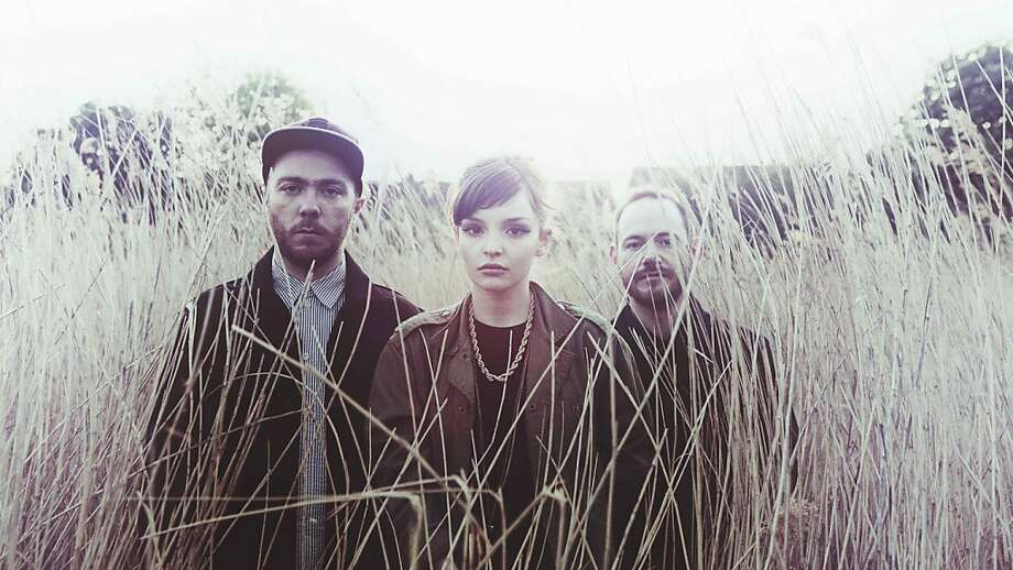 The band Chvrches Chvrches' new album, The Bones of What You Believe, comes out Sept. 24. Photo: Glassnote