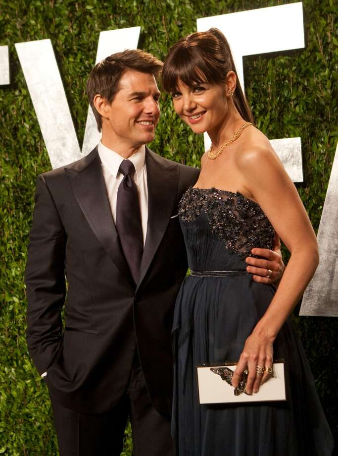Who:Tom Cruise and Katie Holmes Married for: 5 years Photo: ADRIAN SANCHEZ-GONZALEZ, AFP/Getty Images