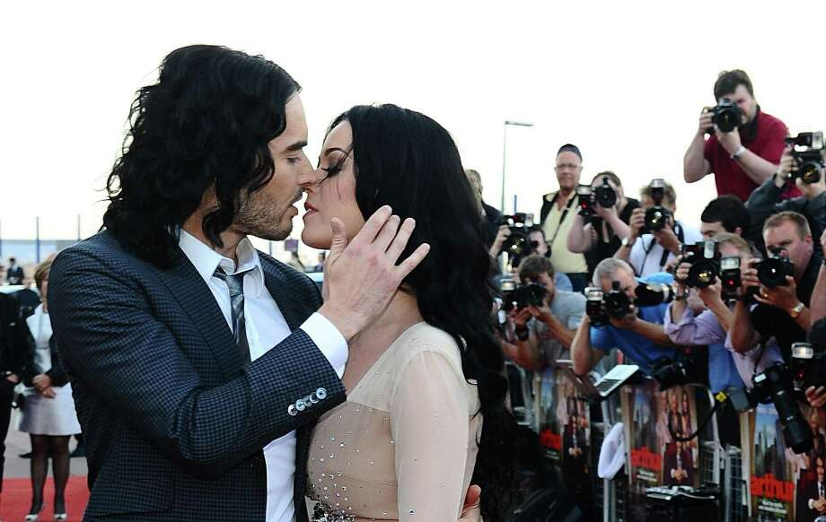 Who:Russell Brand and Katy Perry