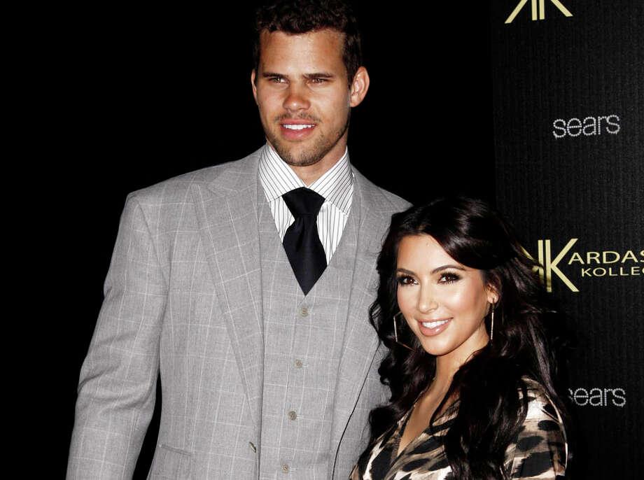Who: Kim Kardashian and Kris Humphries Married for: 72 days Photo: Matt Sayles, AP / AP2011