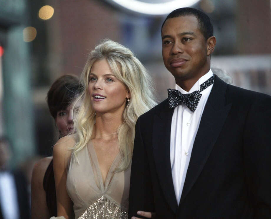 Who:Tiger Woods and Elin Nordegren 