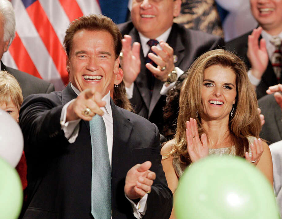 Who: Arnold Schwarzenegger and Maria Shriver
