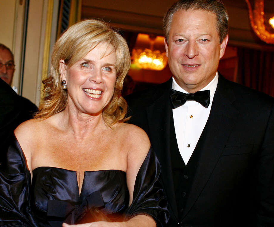 Who: Al Gore and Tipper Gore 
