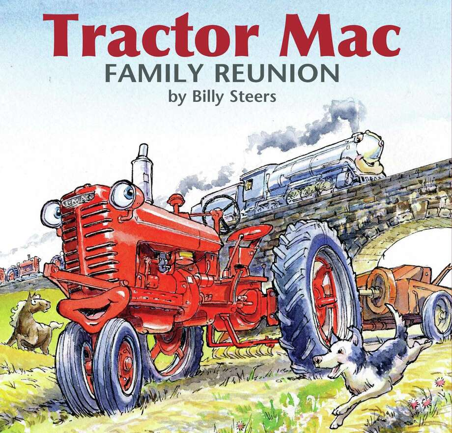 The children's book series ìTractor Mac,î will be featured at the downtown Fairfield University Bookstore when author Billy Steers comes for a story time and book signing on Nov. 9. Photo: Contributed Photo / Fairfield Citizen