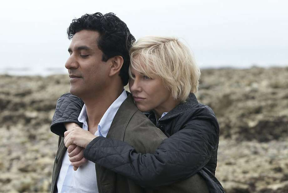 "In ""Diana,"" Dr. Hasnat Khan (Naveen Andrews) doesn't swoon in the presence of Princess Diana (Naomi Watts) and comes off as an unaccommodating guy. Photo: Laurie Sparham, Entertainment One"