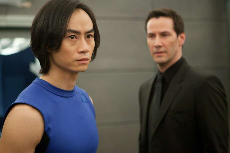 Martial arts stuntman Tiger Chen (left) stars with director Keanu Reeves in the U.S.-Chinese drama. Photo: RADiUS-TWC