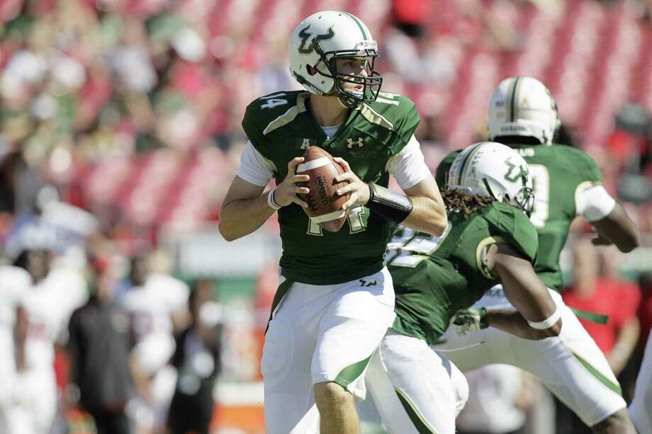 South Florida quarterback Mike White makes his first career start against the Coogs at Reliant on Thursday night. Photo: Octavio Jones, McClatchy-Tribune News Service / Tampa Bay Times