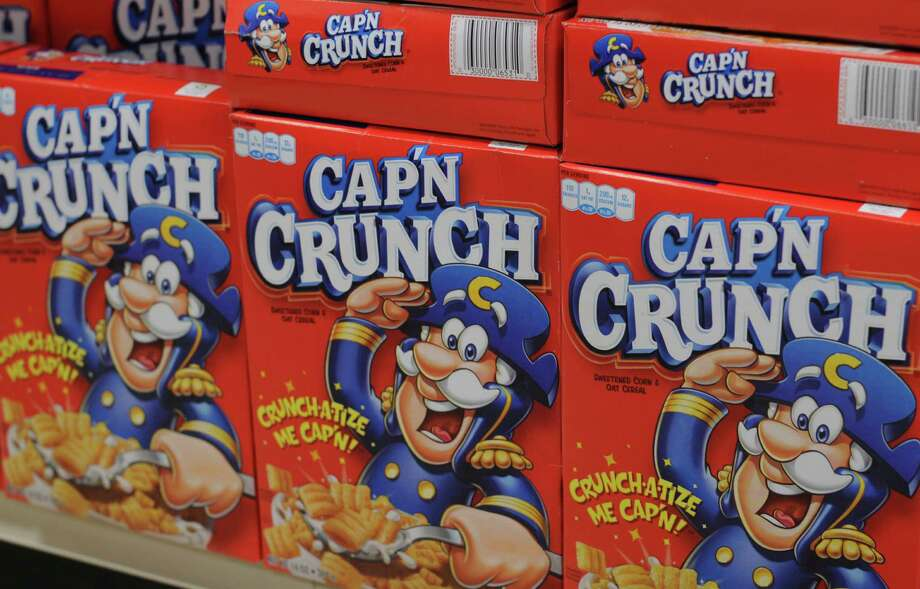Cap'n Crunch pulls rank on his cereal boxes. Photo: -- / Tobias Everke
