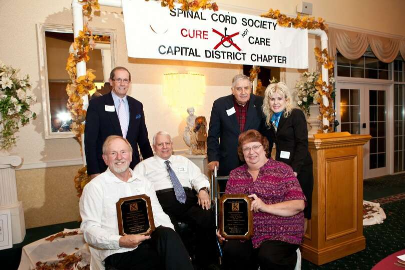 About 100 people attended the Capital District Chapter of the Spinal Cord Society?s 29th Annual Rese