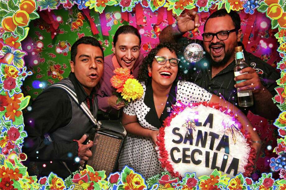 La Santa Cecilia, a fusion rock band from Los Angeles, will play Saturday at a Día de los Muertos celebration at La Villita.