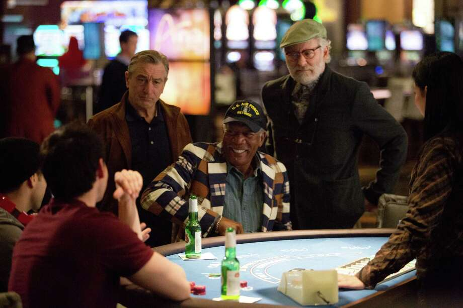 "Robert De Niro (from left), Morgan Freeman and Kevin Kline star in ""Last Vegas."" Photo: CBS Films"