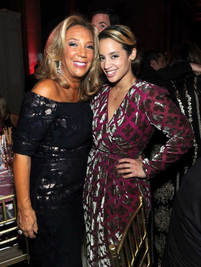 President and Co-founder of Gabrielle's Angel Foundation Denise Rich (L) and Actress Dascha Polanco attend Gabrielle's Angel Foundation Hosts Angel Ball 2013 at Cipriani Wall Street on October 29, 2013 in New York City.  (Photo by Jamie McCarthy/Getty Images for Gabrielle's Angel Foundation) Photo: Jamie McCarthy