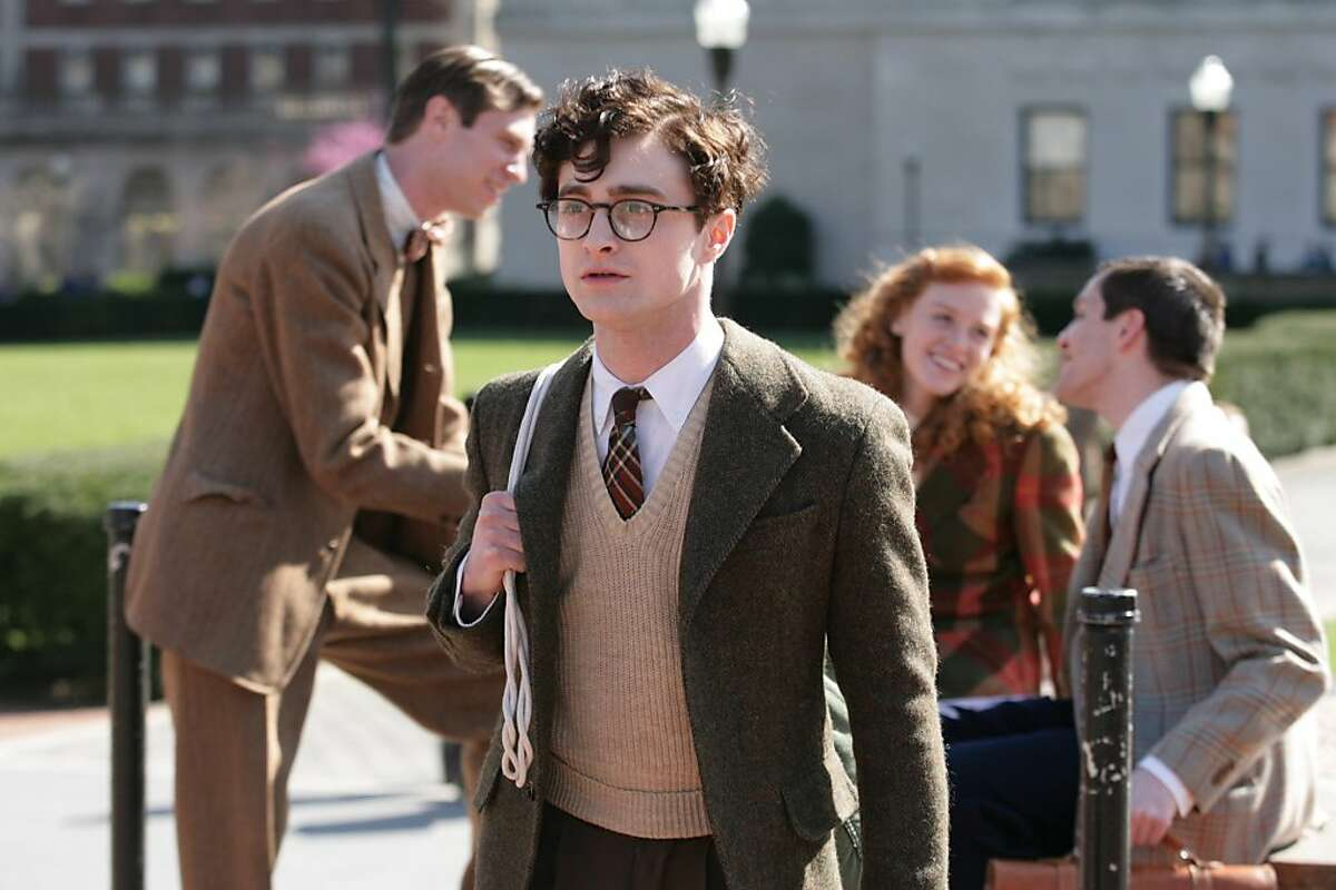 Daniel Radcliffe as Allen Ginsberg Photo by Jessica Miglio, Courtesy of Sony Pictures Classics