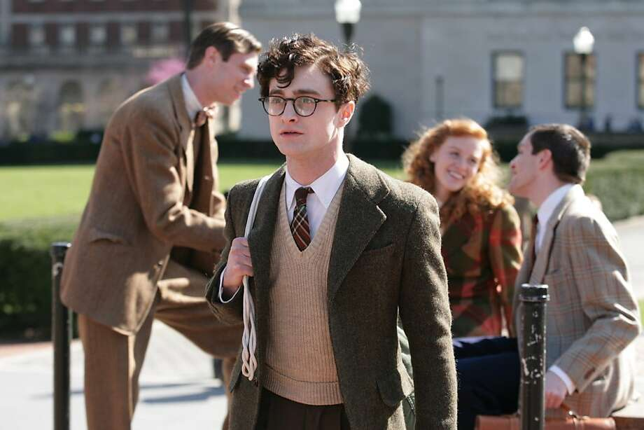 Daniel Radcliffe plays Allen Ginsberg, the core of the film. Photo: Jessica Miglio, Sony Pictures Classics