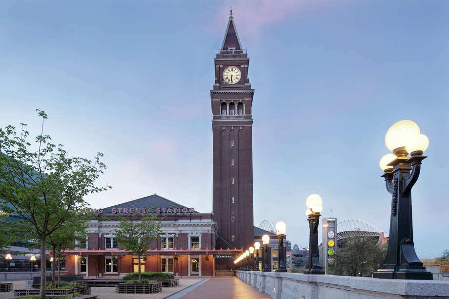 "Jury Recognition Award: King Street Station, in Seattle, for architectural restoration and renovation as designed by ZGF Architects LLP.The jury wrote: ""The jury recognizes the difficulty of restoring a building of this quality and the outstanding preservation effort to give renewed life to this important civic landmark. The architects did an excellent job of restoring the building to its previous elegance through strict attention to details and material selection. Great credit goes to all the craftspeople involved in restoring this magnificent structure."" Photo: Doug J Scott"