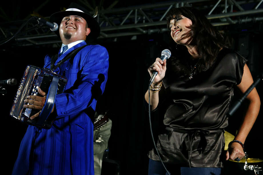 Tejano singer Linda Escobar hosts her scholarship fundraiser at Pan Am Plaza on Sunday. Photo: Express-News File Photo