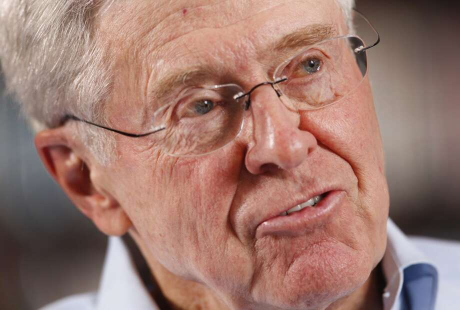 Kansas: Charles KochCo-owner of Koch IndustriesNet worth: $42.7 billion Photo: BO RADER, McClatchy-Tribune News Service