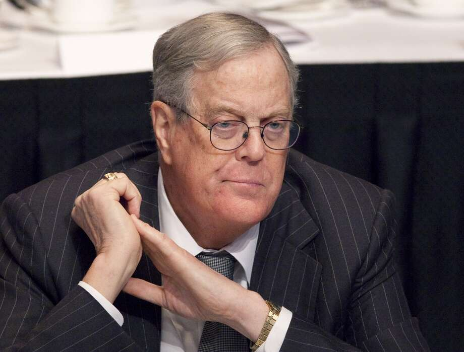 No 6 - David Koch, co-owner and executive vice president of Koch Industries ($40 billion)See the complete list at Forbes.com Photo: Mark Lennihan, Associated Press