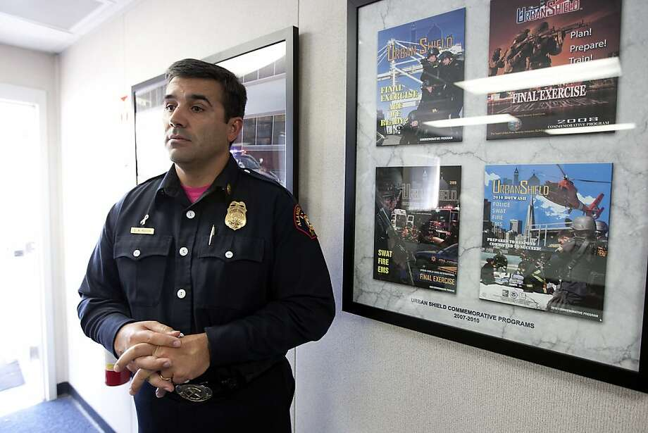 Alameda Deputy Fire Chief Dave Rocha says emergency responders initially had no reason to think anything was amiss. Photo: Michael Short, The Chronicle