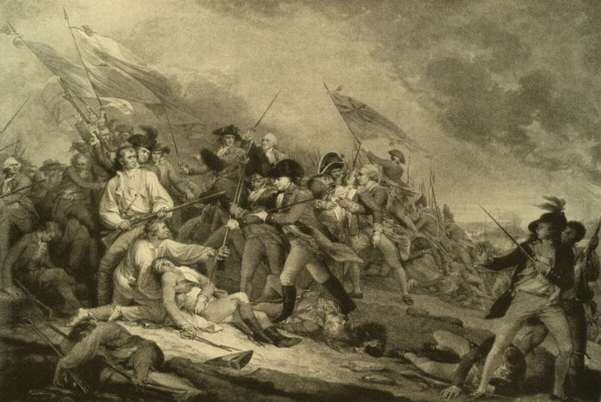 April 19, 1775 - March 17, 1776. Continental Army surrounds British Army units in Boston. British garrison forced to withdraw.