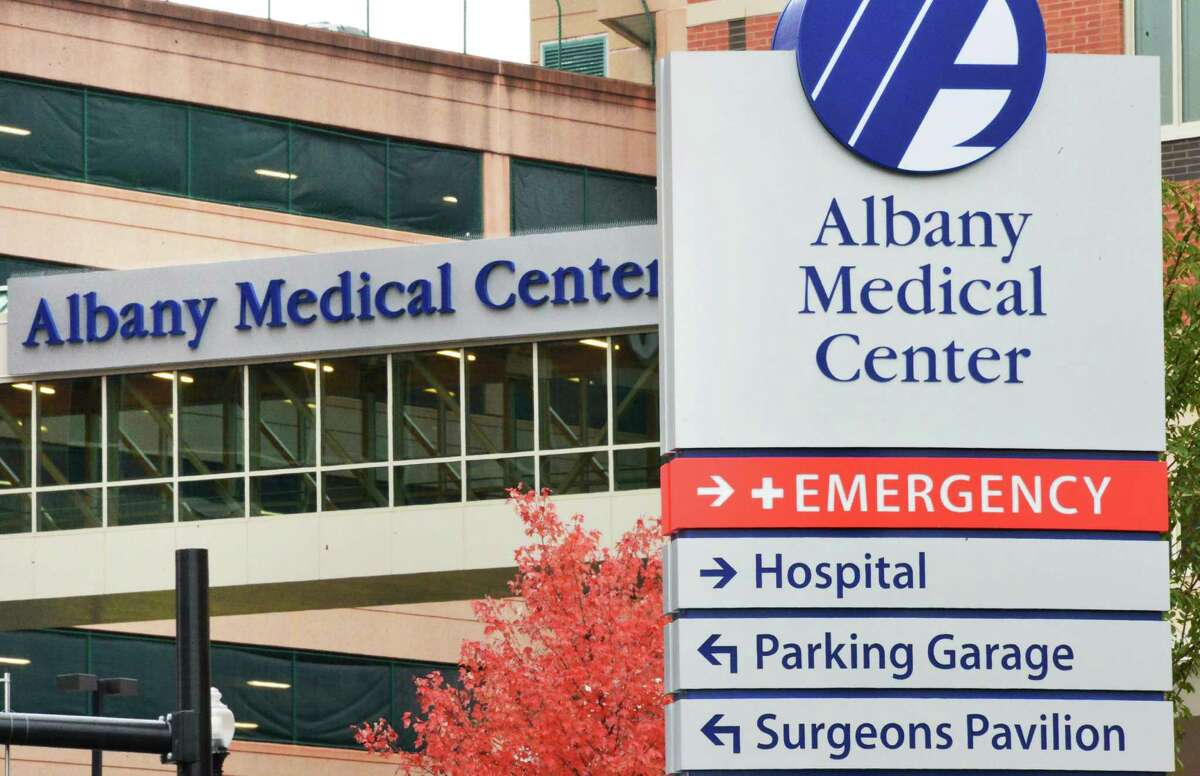 Exterior of Albany Medical Center on New Scotland Avenue Wednesday, Oct. 30, 2013, in Albany, N.Y. (John Carl D'Annibale / Times Union)