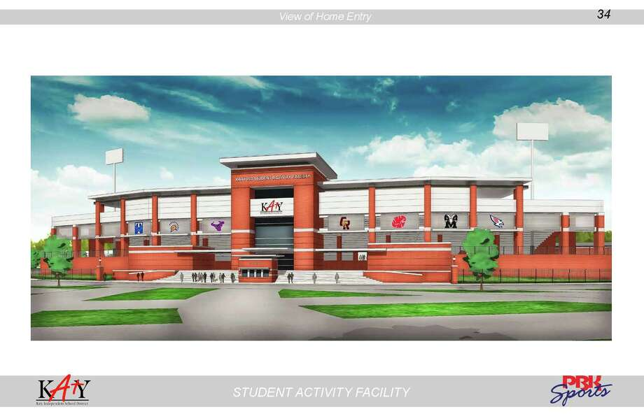 A plan for  a football stadium costing $69.5 million was included in a  Katy bond referendum back in November but rejected by voters, with many suggesting that it was largely because of the price tag. The proposed 14,000-seat stadium was to have been constructed on district-owned property north of and adjacent to Rhodes Stadium at 1733 Katy-Fort Bend Road. / Katy Independent School District