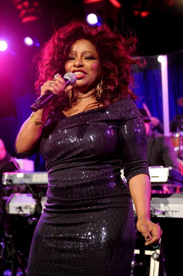 Musician Chaka Khan performs onstage during Gabrielle's Angel Foundation Hosts Angel Ball 2013 at Cipriani Wall Street on October 29, 2013 in New York City.  (Photo by Jamie McCarthy/Getty Images for Gabrielle's Angel Foundation) Photo: Jamie McCarthy