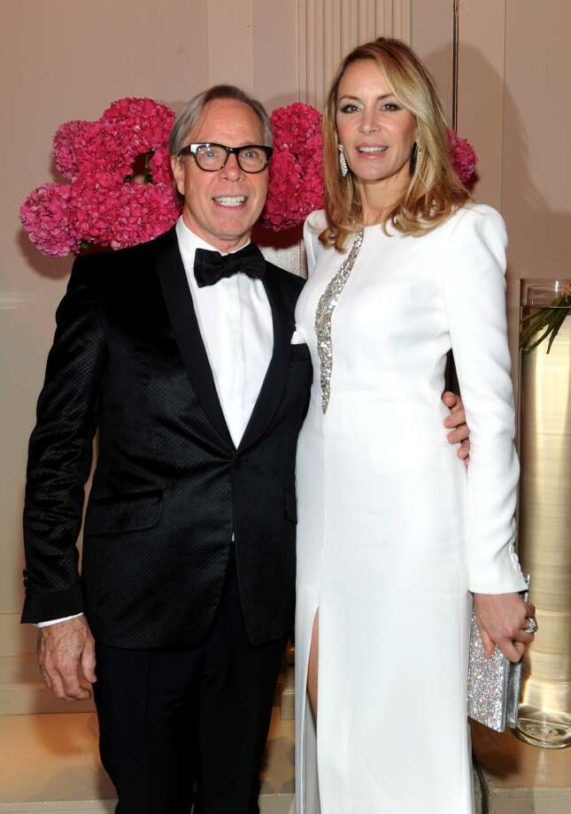 Designer Tommy Hilfiger and Dee Ocleppo attend Gabrielle's Angel Foundation Hosts Angel Ball 2013 at Cipriani Wall Street on October 29, 2013 in New York City.  (Photo by Jamie McCarthy/Getty Images for Gabrielle's Angel Foundation) Photo: Jamie McCarthy