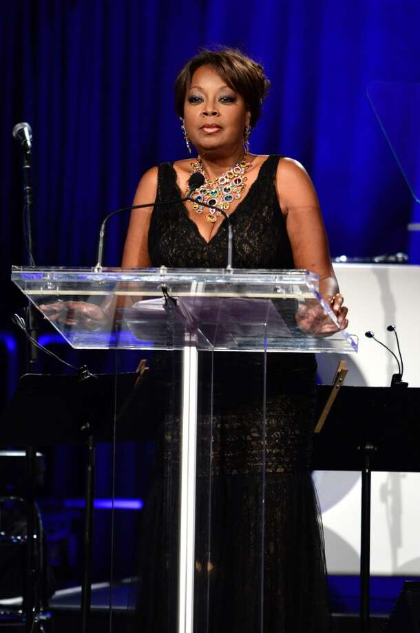 Star Jones speaks onstage during Gabrielle's Angel Foundation Hosts Angel Ball 2013 at Cipriani Wall Street on October 29, 2013 in New York City.  (Photo by Dimitrios Kambouris/Getty Images for Gabrielle's Angel Foundation) Photo: Dimitrios Kambouris