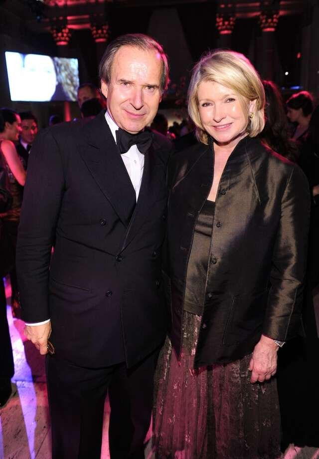 Art Collector and Honoree Simon de Pury (L) and Martha Stewart attend Gabrielle's Angel Foundation Hosts Angel Ball 2013 at Cipriani Wall Street on October 29, 2013 in New York City.  (Photo by Dimitrios Kambouris/Getty Images for Gabrielle's Angel Foundation) Photo: Dimitrios Kambouris