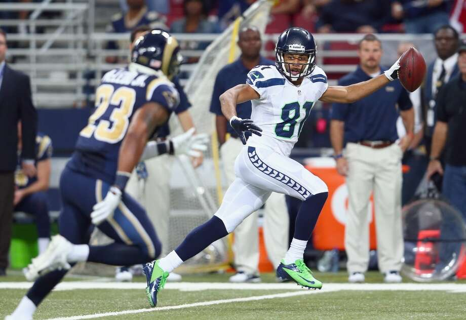 "Q: After receiver Golden Tate's touchdown Monday (pictured) and his subsequent fine, the head of NFL officiating on Wednesday said the league is considering a rule that would take away TDs if a player is flagged for taunting. What do you think of that?  PC: ""No I think that's a terrible thing to do. I think it puts too much pressure on the officials to change a game like that. I don't think that's the time -- I think that the actions that the league took in this case were warranted exactly. But I think that would be a terrible thing for an official -- and I think it's terrible in college football -- to put it on a back judge to have to figure out whether they should take the touchdown away in a game.   ""Remember, wasn't there a play here with (then-UW quarterback) Jake Locker a few years back when he threw the ball in the air or something like that? That was horrible, that was a horrible call to affect a game. That should just not be part of what the official has to call. Throw the flag, do the normal thing, and then take care of business afterwards.   ""Taking a look at (Tate's) situation -- just to say it again -- that's not the way we want to present who we are and we're all about. It was a mistake that Golden has totally taken accountability for and all of that. I just wish it wouldn't have happened for a lot of reasons. The statement that he made, and that we make about it, I hope is clear -- that there is no place for that in football, we don't need that at all, and that's not part of this game at all. He gets the regular scrutiny that he should get, and he'll take it.""  Q: Did the Rams say something to Tate that set him off, or anything?  PC: ""I have no idea."" Photo: Andy Lyons, Getty Images"