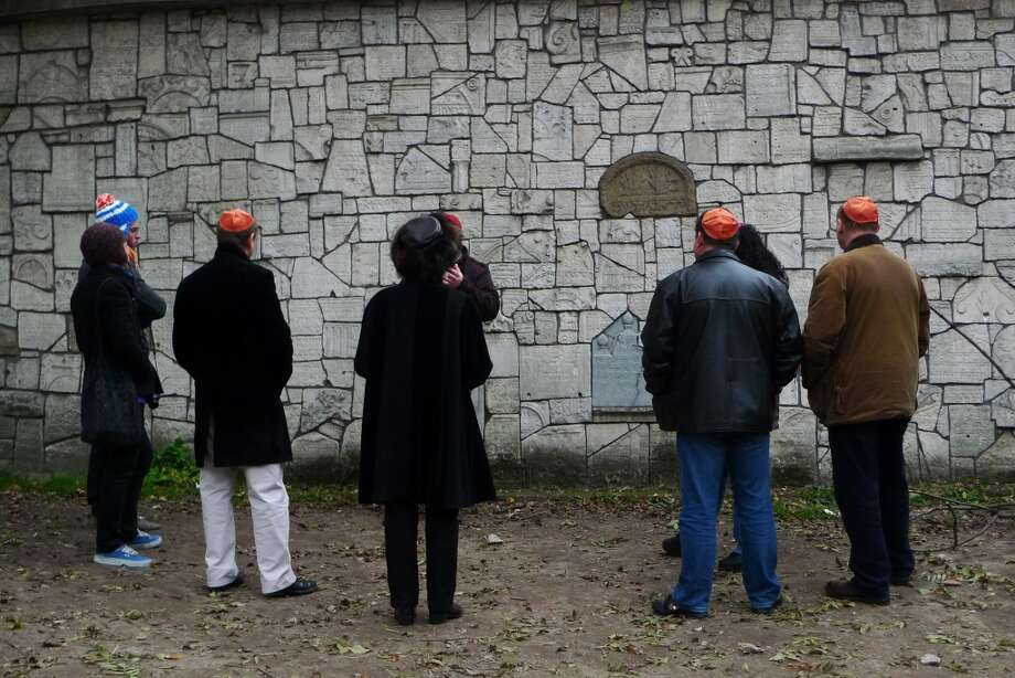 While the Jewish Quarter today has very few Jewish Poles living in it, the cemetery is a popular site among tourists. Photo: Spud Hilton, The Chronicle