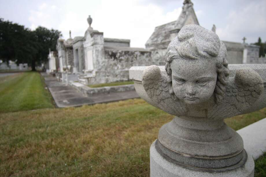 Lake Lawn Cemetery in New Orleans (once known as Metairie Cemetery) is younger than the famous St. Louis and Lafayette cemeteries in the city, but has the most elaborate crypts and monuments. Photo: Spud Hilton, The Chronicle