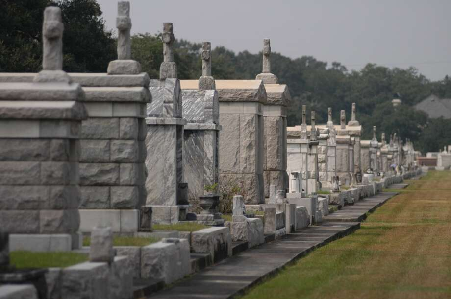 Legend has it the cemetery originally was a racetrack, purchased and turned into a graveyard in the 1800s by a man who had been turned away from the track. Photo: Spud Hilton, The Chronicle