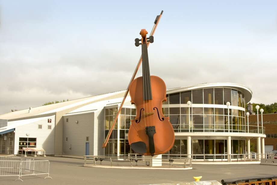 Sydney, Canada (Nova Scotia) | J.A. Douglas McCurdy Airport (YQY)    Music-lovers who hope to catch a glimpse of the Sydney Opera House in Australia, but instead end up in Sydney, Canada, need not fret – the quaint Nova Scotia city is home to the world's largest fiddle. Photo: Barrett & MacKay, Getty Images/All Canada Photos