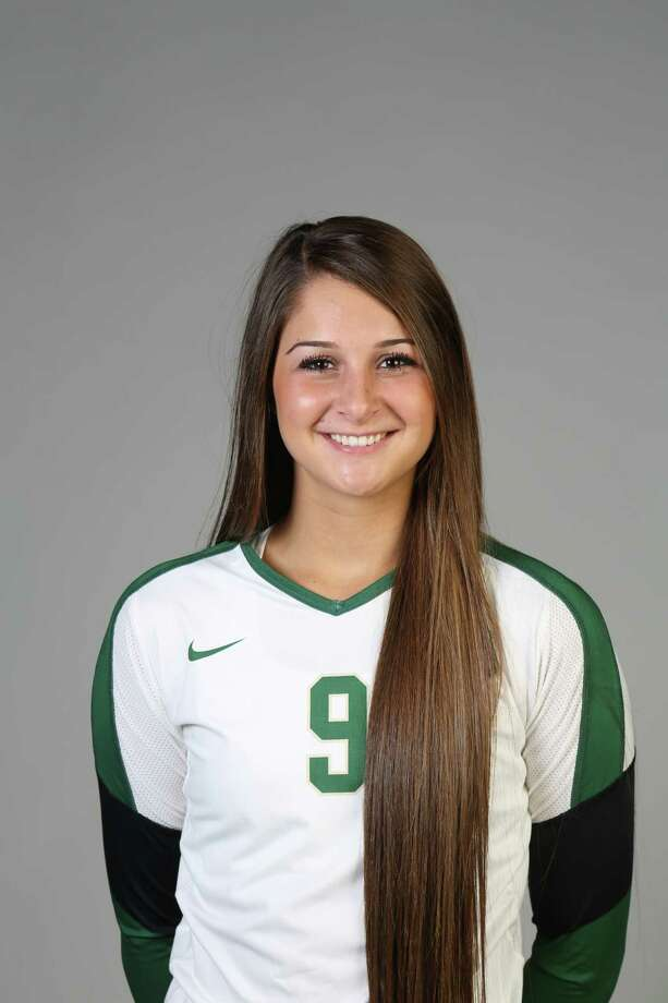 Baylor's Morgan Reed (Oct. 2013), a freshman setter from Reagan, had 82 assists, 21 digs, seven kills, three blocks and a .227 hitting percentage in her first two college starts as the Bears defeated Kansas State and Texas Tech in Big 12 Conference play. She had 41 assists, 13 digs, five kills and 1 1/2 blocks in her first college start against Kansas State.