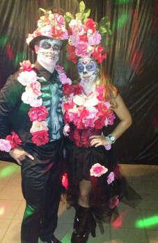 Debbie and Ricky Brannon Dia de los Muertos/Halloween 2013  (Debbie Brannen)