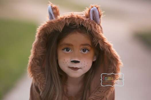 This is my 6year old daughter Kira, she wanted to be a fox for Halloween ever since she heard the fox song. We had so much fun with her costume:)