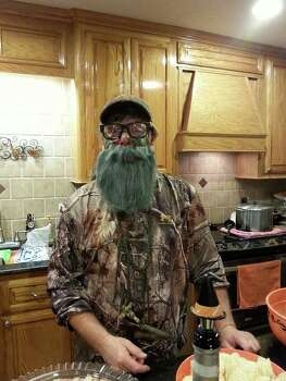 Pat Guthrie as Uncle Si from Duck Dynasty. 