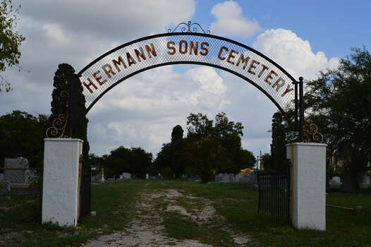 Hermann Sons Cemetery located at the 400 Block of S. New Braunfels Ave - Established in 1895, the Hermann Sons Cemetery served three different local lodges.  Many of those interred were part of the local German brewing industry.  Photo: Cinde Ramirez/ MySanAntonio.com