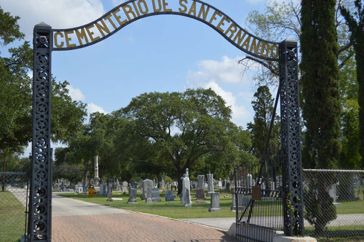 San Fernando Cemetery No. 1 located at 1100 S. Colorado St., is one of the oldest cemeteries in the U.S., believed to exist since 1840.  Many important figures of San Antonio's history are buried in the San Fernando Cemetery #1, including signers of the Texas Declaration of Independence, Col. Jose Navarro and Francisco Ruiz, and longtime mayor of San Antonio, Bryan Callaghan. Source: saculturaltours