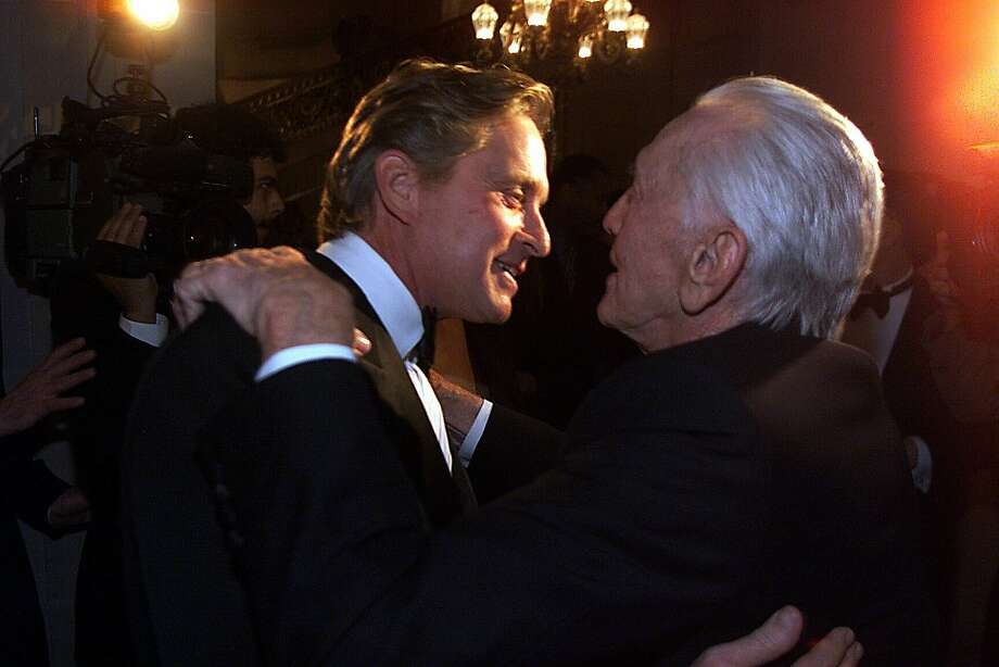 Michael Douglas (left) had a better shot at acting fame as the son of Kirk Douglas. Photo: Chris Stewart, SFC