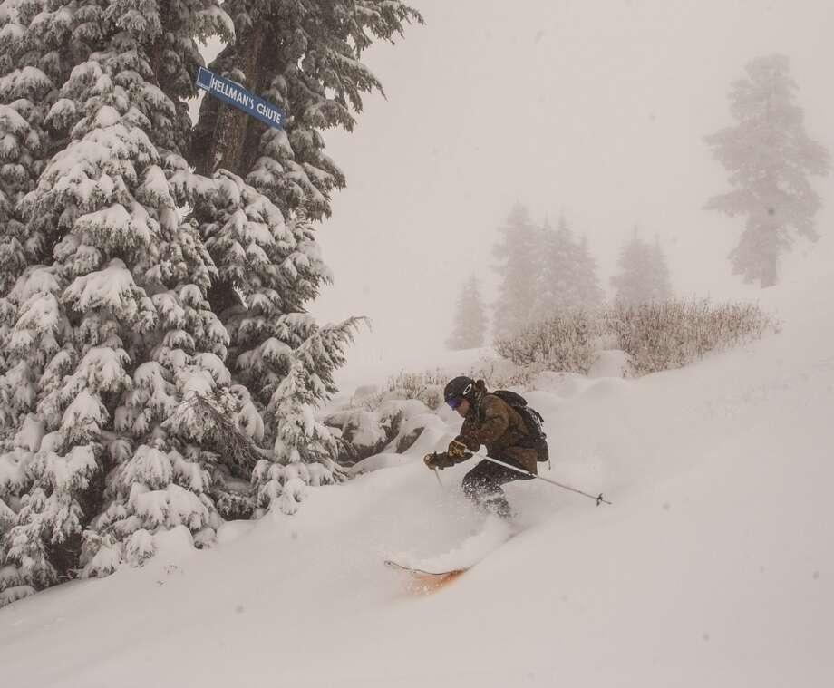 The skiing looks fine at Sugar Bowl. Photo: Grant Barta, Courtesy